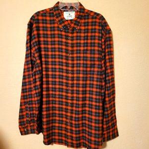 NWT Cactusman Plaid Flannel Unisex Shirt Shacket XL XXL